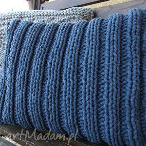 Ściągaczowa jeansowa poduszka poduszki splociarnia poduszka