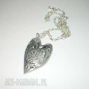 wisiorki serce mosiądzu, serce, miedź, unikatowa-biżuteria, unikatowe-serce