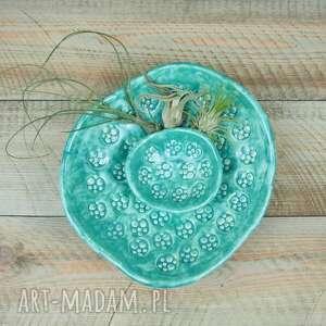ceramika miski miętowe ceramiczne dwie komplet, miska miętowa, miseczki