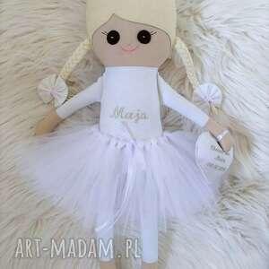 Lalka szmacianka pamiątka chrztu z personalizacją lalki