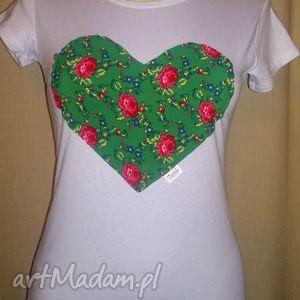 tustela koszulka z góralskim sercem, koszulka, podkoszulka, folk, serce, góralskie