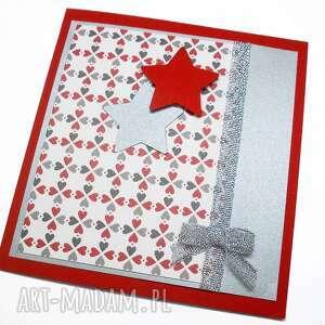 ręczne wykonanie pomysł na świąteczne prezenty kartka świateczna