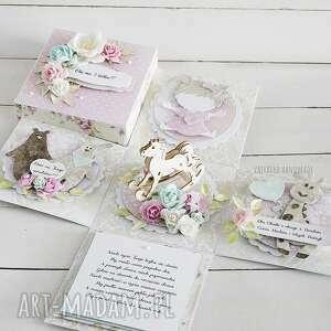 urodzinowy exploding box dla dziecka - na zamówienie, urodziny dziecka dziecko