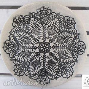 ręcznie wykonane ceramika talerz na ludowo