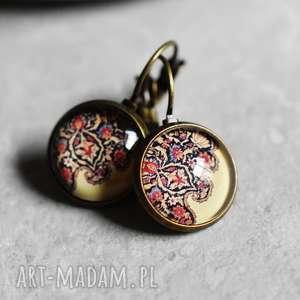 ♥ Orientalny dywan III Kolczyki, dywan, orient, vintage