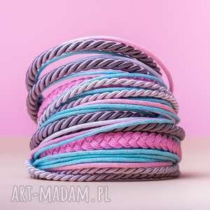 whw big mess - candy flow, sznurkowa, sznureczkowa, zwijana, zawijana, kolorowa