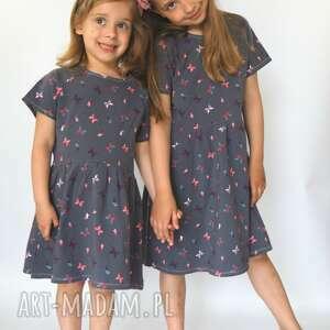 ubranka sukienka butterfly, sukienka, dziewczęca, motylki, lato, wakacje