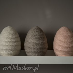 jajka sznurkowe, jajka, wielkanoc, sznurek, dom, dekoracja dekoracje, oryginalny