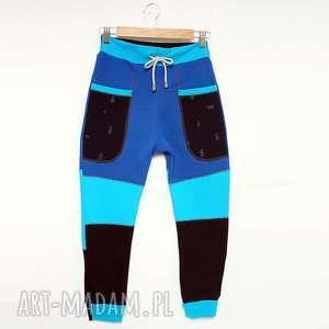 ONLY ONE No 016 - spodnie dziecięce 140 cm, eco, recykling, bawełna, dres, unikat