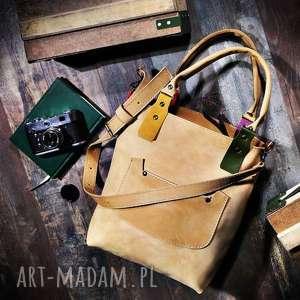 torebka ręcznie robiona skórzana kolorowa, torebka, torba, na ramię