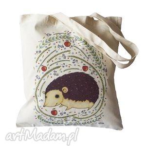 Torba ekologiczna jeżyk malgorzata domanska torba, ekologiczna,