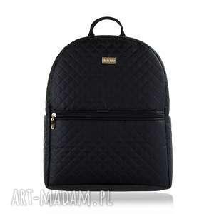 hand-made plecak damski 642 czarny