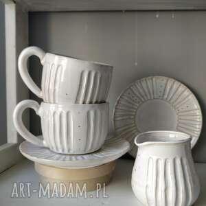 kate maciukajc zestaw dwóch filiżanek i dzbanuszka 3, dzbanuszek, ceramika
