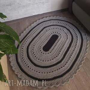 misz masz dorota dywan owalny ze sznurka bawełnianego 120cmx160cm