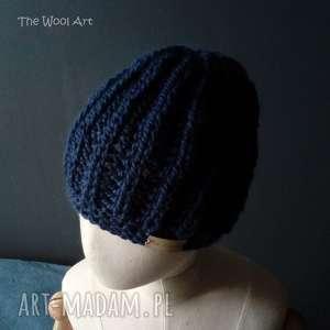 Ciepła czapka z alpaki czapki the wool art czapka, wełniana