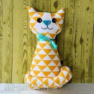 kotek miauqn - cytrynka - kot, kotek, zabawka, maskotka, przytulanka, roczek