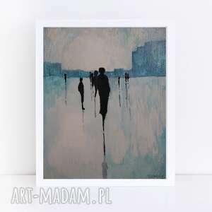 Abstracja-akwarela formatu 18 24 cm paulina lebida akwarela