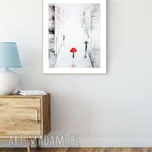 art krystyna siwek obraz 40x50 cm wykonany ręcznie, abstrakcja, do salonu