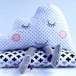 senna chmurka - chmurka, poduszka, maskotka, przytulanka, skandynawska, dziecko
