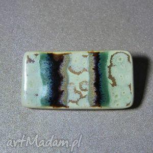 ceramiczna broszka - broszka, ceramiczna, prezent, upominek, święta, amaart