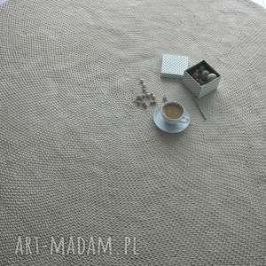 dywan bawełniany średnica 200 cm, dywan, naturalny