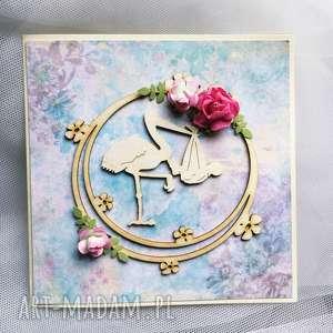 kartka okolicznościowa narodziny dziecka gratulacje, narodziny, dziewczynka