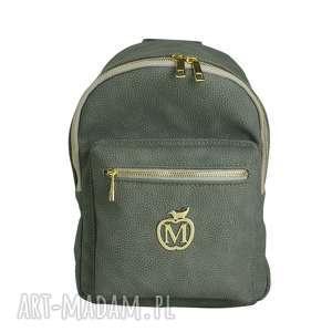 manzana duży plecak szkolny a4 szary siwy, plecak, duży, szkolny, wygodny