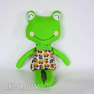 żabka - elegant tomek 46 cm, żabka, chłopczyk, wywrotka, maskotka, przytulanka