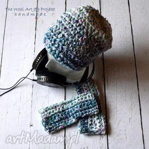 Gruba czapka czapki the wool art czapka, nakryciegłowy, prezent,