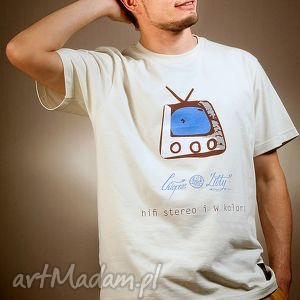 handmade koszulki koszulka męska hifi stereo i w kolorze