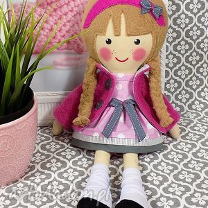 Prezent malowana lala samanta, lalka, zabawka, przytulanka, prezent, niespodzianka