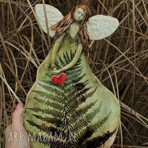 handmade dla dziecka anioł paproć
