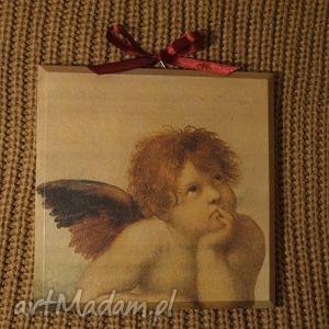 obrazek decoupage - angel vintage, anioł, anioły, aniołek, retro, obrazki, obraz