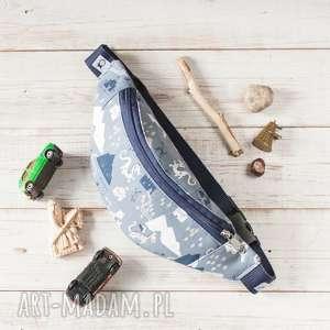 handmade dla dziecka nerka kids - smoki (granat)