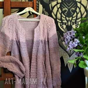 swetry duży sweter universal size, sweter, kardigan, wełniany