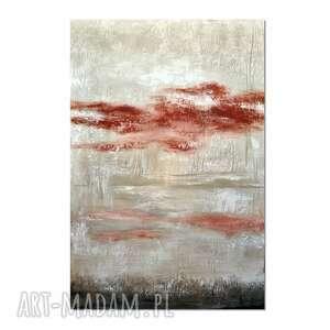 Tierra roca, abstrakcja, nowoczesny obraz ręcznie malowany