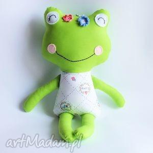 panna Żabka - gracja - 46 cm - żabka, maskotka, zabawka, dziewczynka, przytulanka