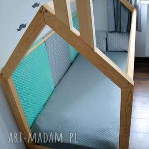 komin do łóżka domek - komin, łóżko