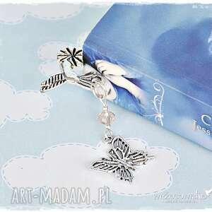 Prezent Zakładka z motylem, zakładka, motyl, prezent, nauczyciel, książka