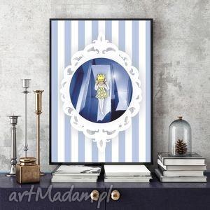 mały król ilustracja a4, obraz, ilustracja, chłopiec, król, plakat, wydruk