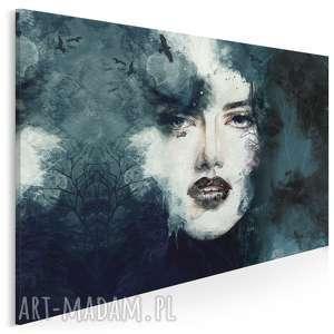 obraz na płótnie - kobieta portret 120x80 cm (22301)