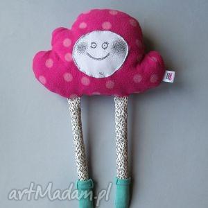 handmade maskotki chmurka z serii fluffy