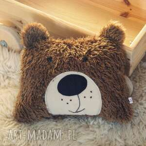 hand made pokoik dziecka poduszka zwierzak - brązowy miś