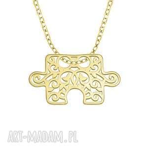 autorskie naszyjniki celebrate - puzzle - necklace g