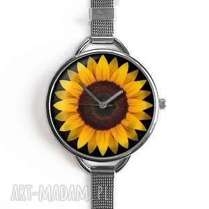 zegarek damski słonecznik, prezent
