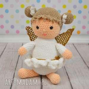 aniołk duży, prezent, urodziny, roczek, chrzest, chłopiec, dziewczynka