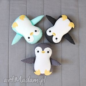 pingwin, pingwinek, maskotka, przytulanka, zabawka, zima dla dziecka