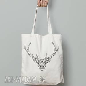 torba bawełniana jeleń, torba, bawełna, deer, zakupy