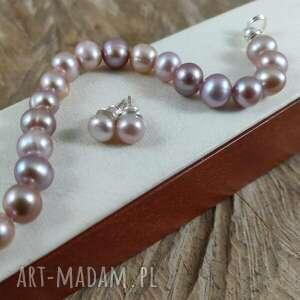 pudrowy róż - perły