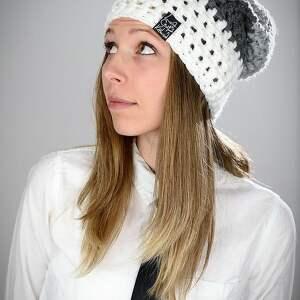 czapki czapka triquence 11 - biała, na narty, snowboardowa, zimowa